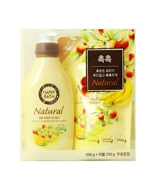 bo-sua-tam-huong-trai-cay-happy-bath-natural-real-moisture